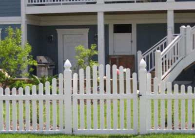 Picket Fence Straight