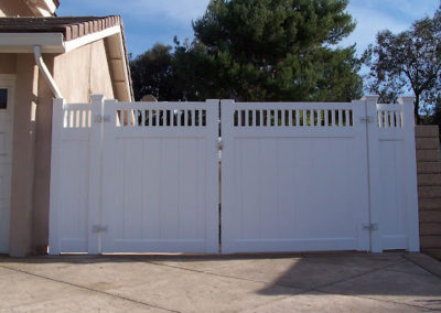 Semi-Privacy Gate